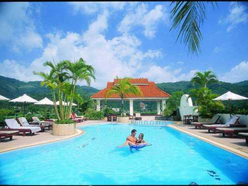The old Phuket Karon beach resort 5
