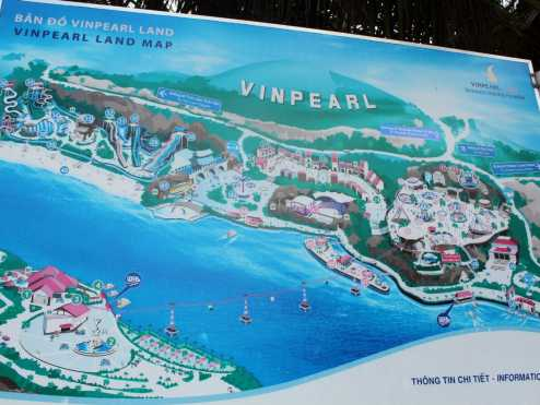 Vinpearl Luxury карта парка